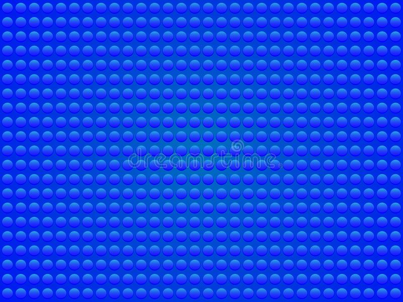 Diseño hermoso y simple de un fondo azul ilustración del vector