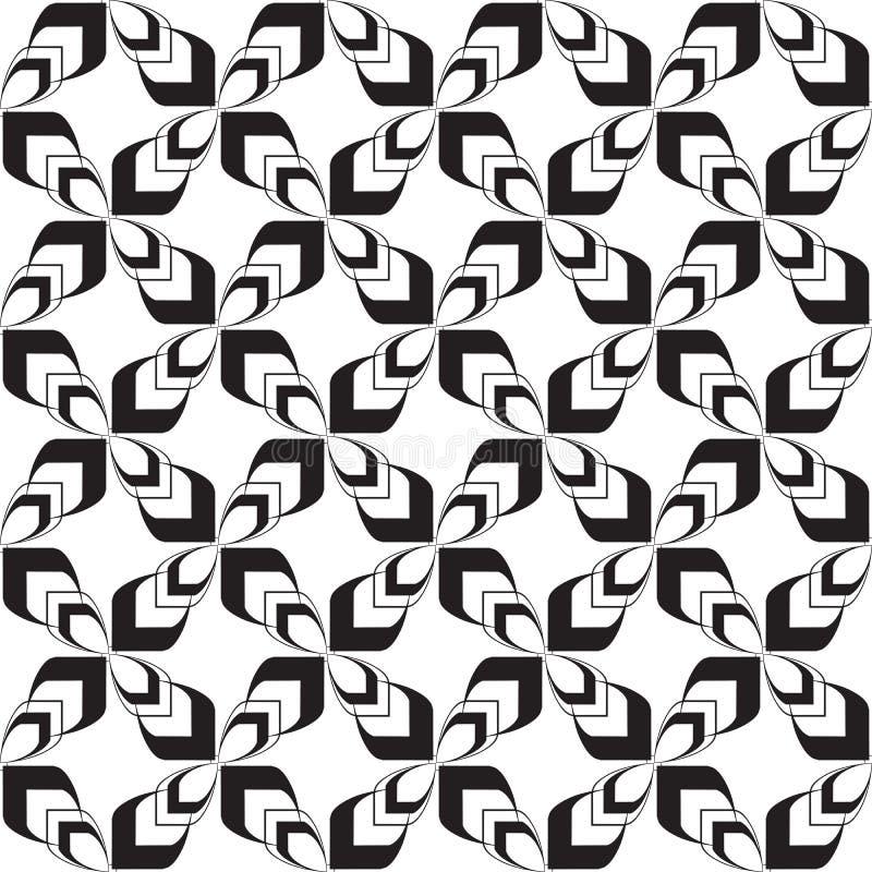 Diseño inconsútil de repetición tribal céltico geométrico moderno del fondo del modelo del vector de las cruces enrrolladas elega libre illustration