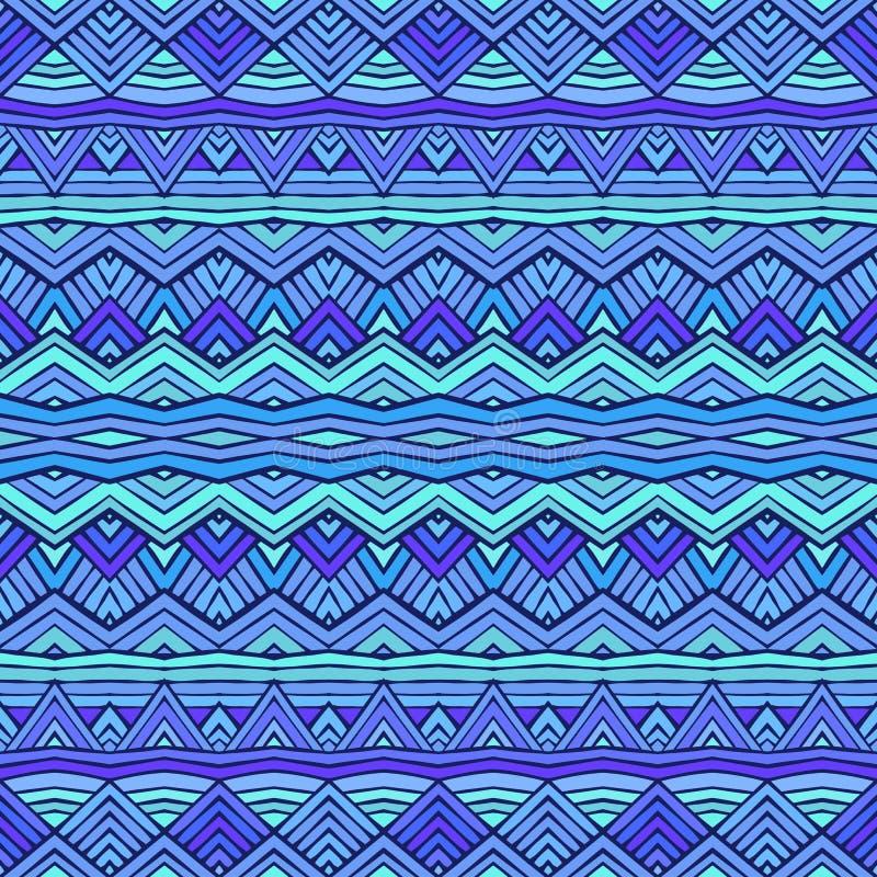 Diseño inconsútil del modelo del ornamento étnico colorido Textura del vector ilustración del vector