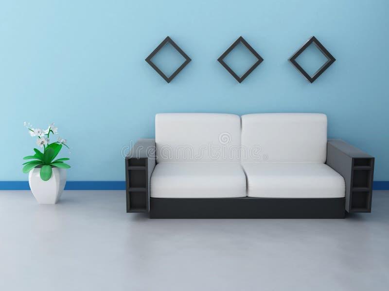 Diseño interior stock de ilustración