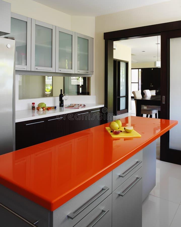 Diseño interior - cocina imagenes de archivo