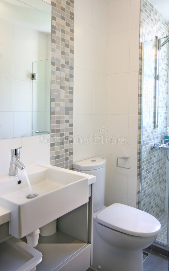 Diseño Interior - Cuarto De Baño Imagen de archivo - Imagen de ...
