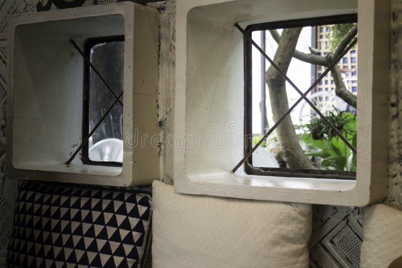 Diseño interior de Indy en café de la calle imagen de archivo libre de regalías