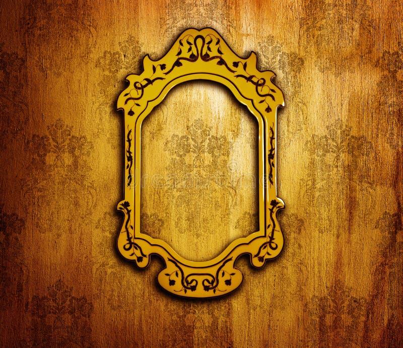 Diseño interior de la vendimia fotos de archivo