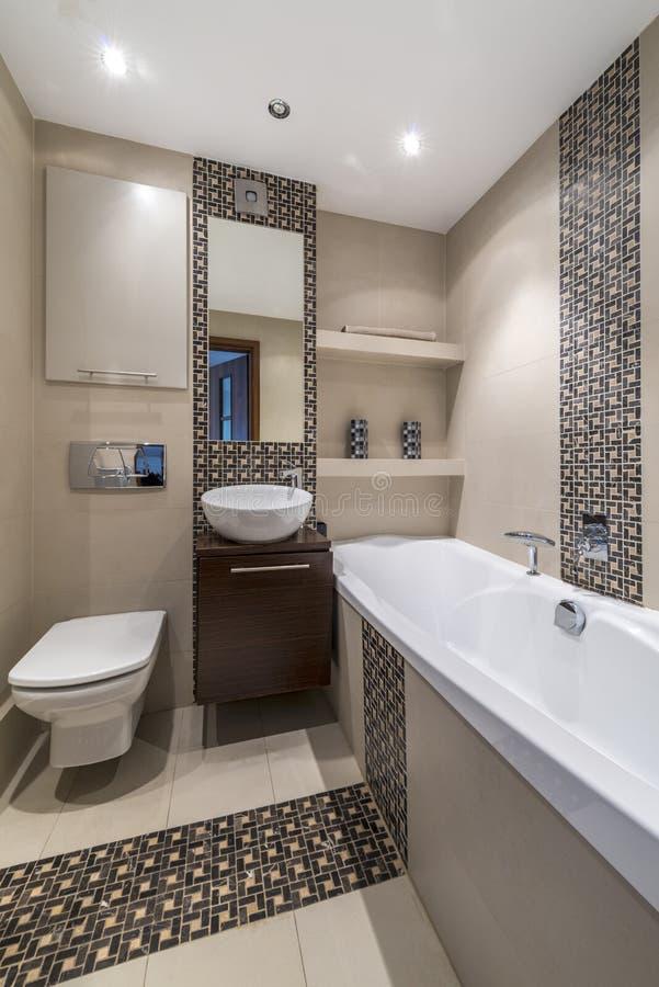 Cuarto De Baño Del Diseño Moderno | Arquitectura Interior ...