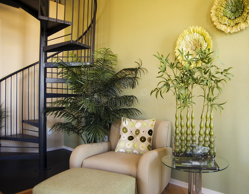 Diseño interior del hogar modelo foto de archivo libre de regalías