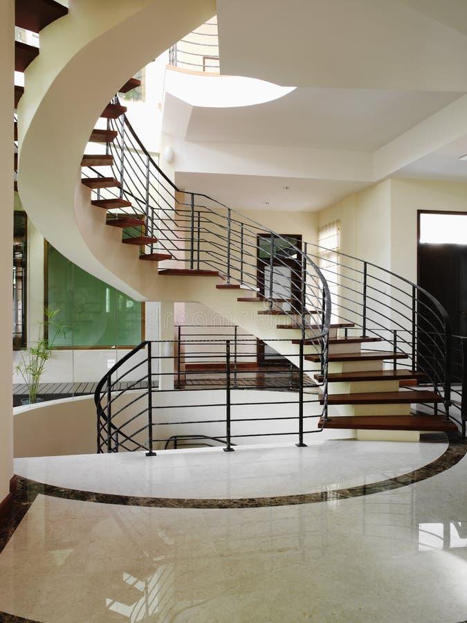 Diseño interior - escaleras fotografía de archivo libre de regalías