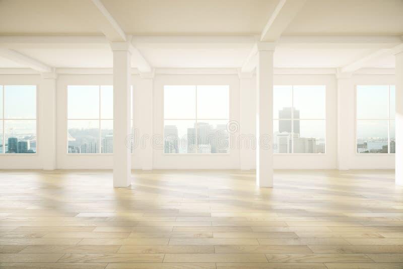 Diseño interior espacioso ilustración del vector