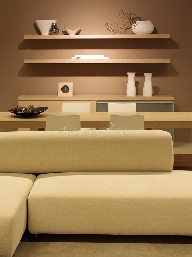 Diseño interior moderno foto de archivo libre de regalías