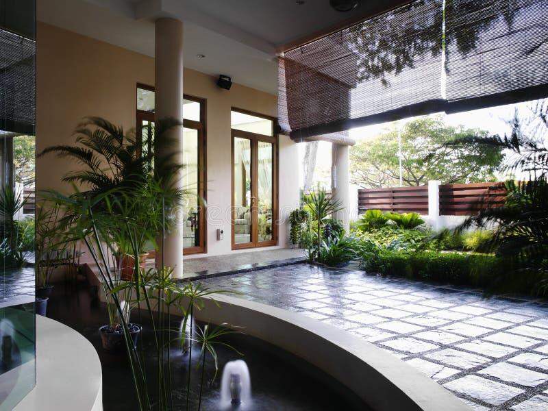 Diseño interior - paisaje foto de archivo libre de regalías