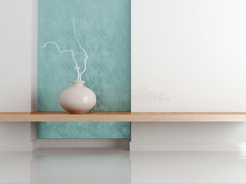Diseño interior, tiro del detalle. stock de ilustración