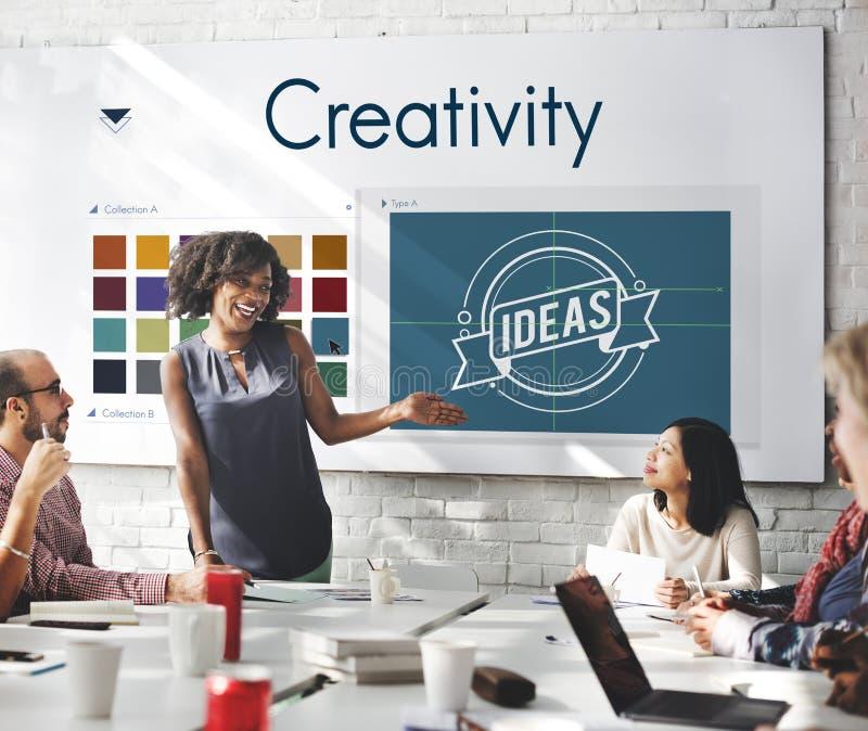 Diseño Logo Concept de la inspiración de la creatividad fotografía de archivo libre de regalías
