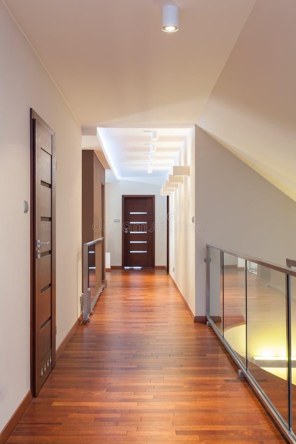Diseño magnífico - pasillo foto de archivo libre de regalías