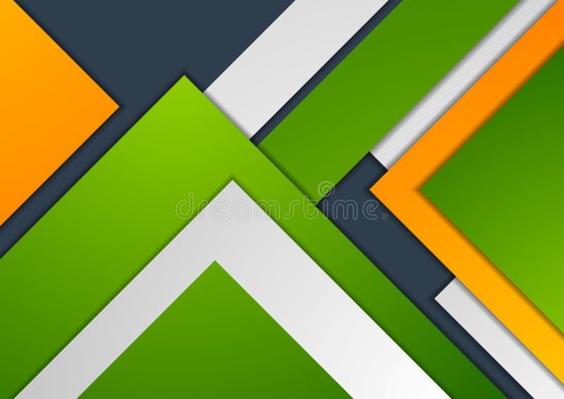 Diseño material corporativo abstracto colorido del vector ilustración del vector