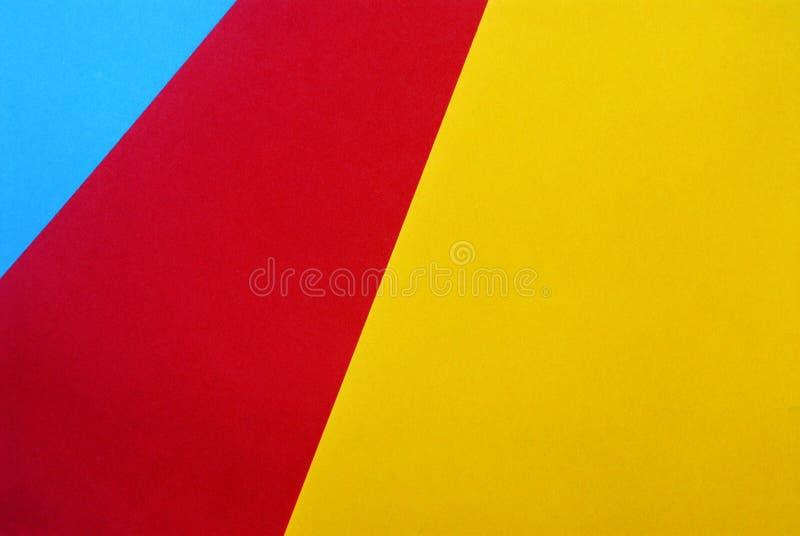 Diseño material en los papeles coloridos fotos de archivo libres de regalías