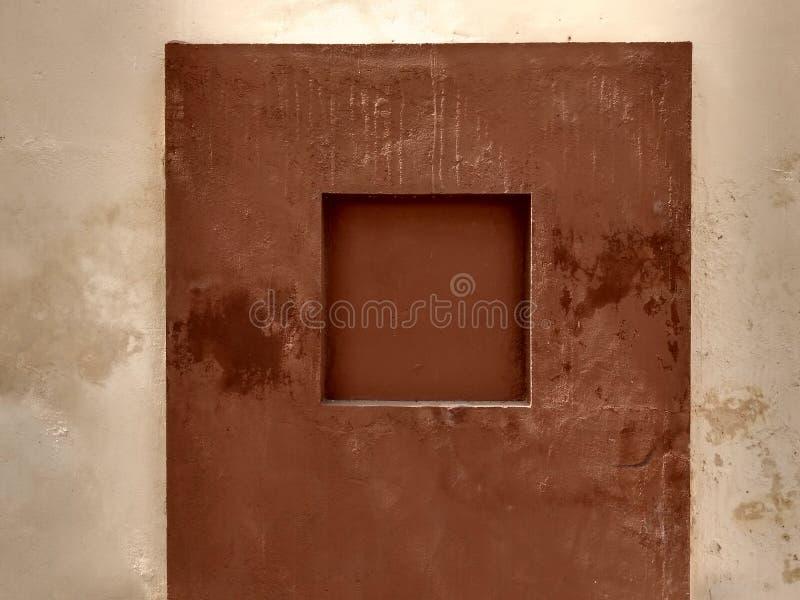 Diseño misterioso de la pared imágenes de archivo libres de regalías
