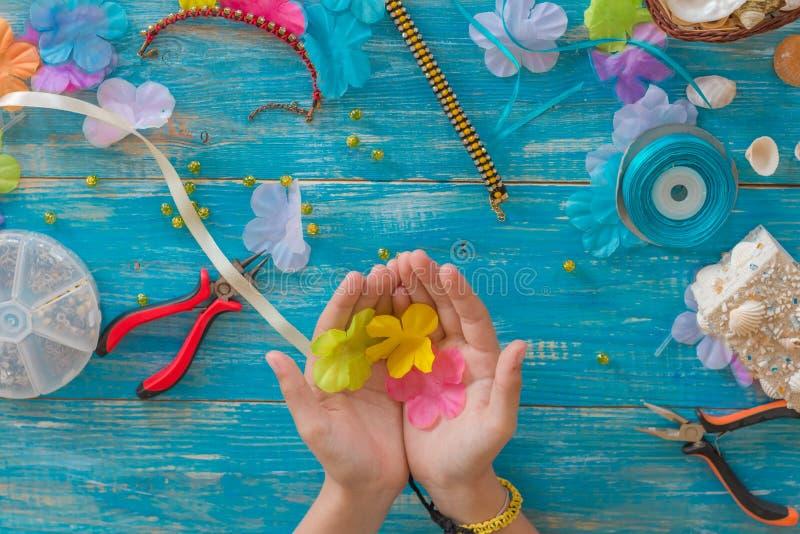 diseño, modelo, mano, hecha, mandala, hilo, agremán, objeto, l imágenes de archivo libres de regalías