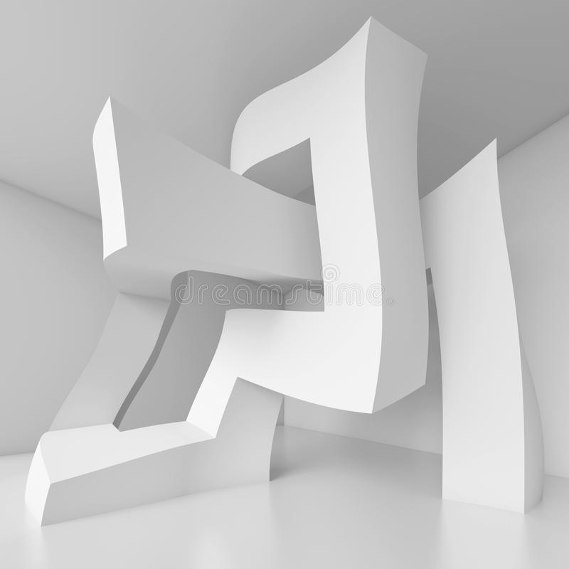 Diseño moderno de la configuración ilustración del vector