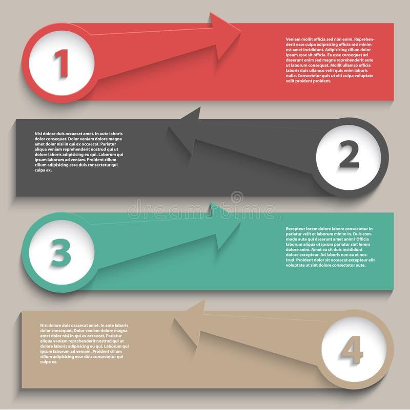 Disposición de Infographics ilustración del vector