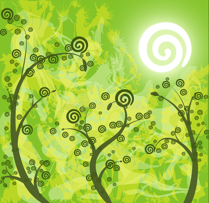 Diseño natural del dreamstime libre illustration