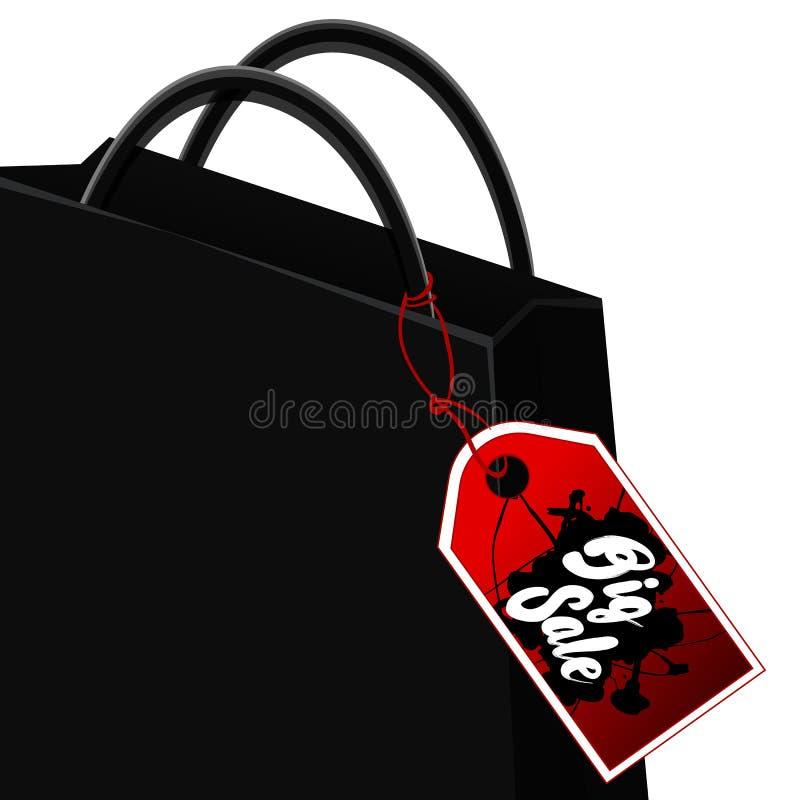 Diseño negro de la venta de viernes imágenes de archivo libres de regalías
