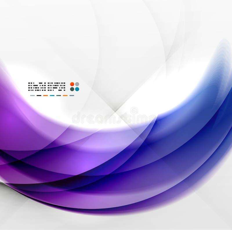 Diseño púrpura abstracto del remolino libre illustration