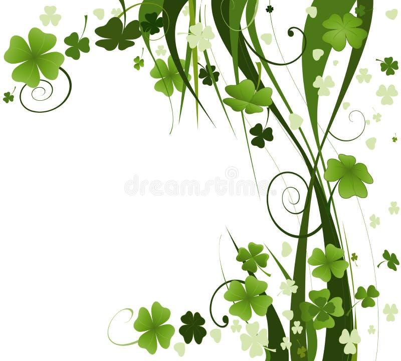 Diseño para el día del St. Patrick ilustración del vector