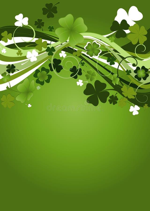 Diseño para el St. Patrick   ilustración del vector