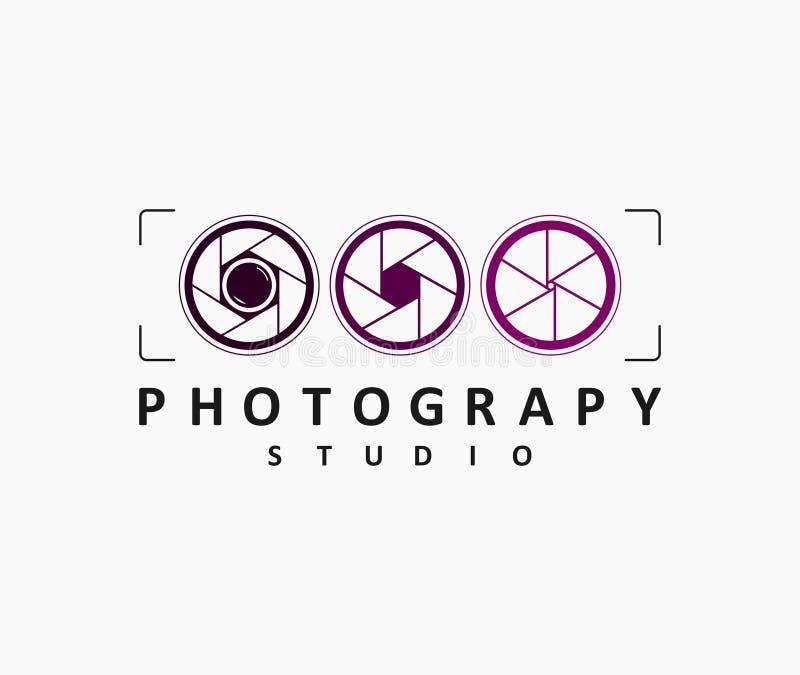 Diseño para los estudios o los fotógrafos fotográficos imagen de archivo