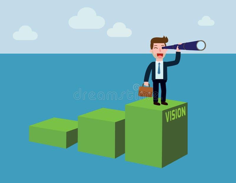 Diseño plano de la historieta del vector del negocio concepto del fondo de la bandera ilustración del vector
