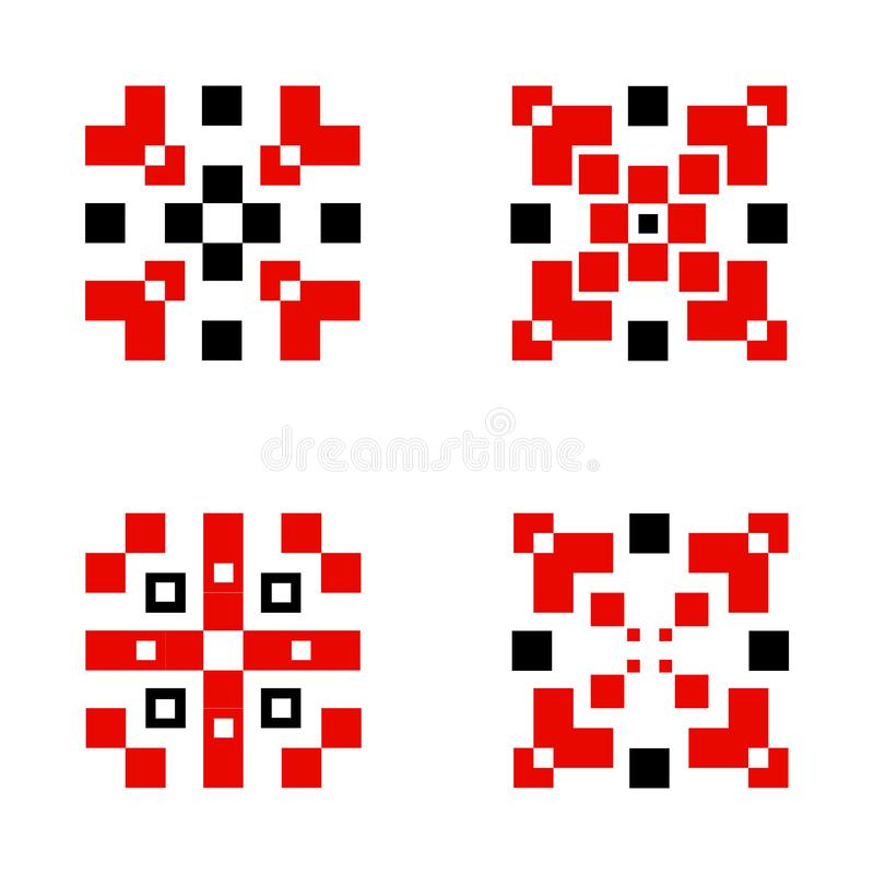 Diseño popular del vector del ornamento étnico libre illustration