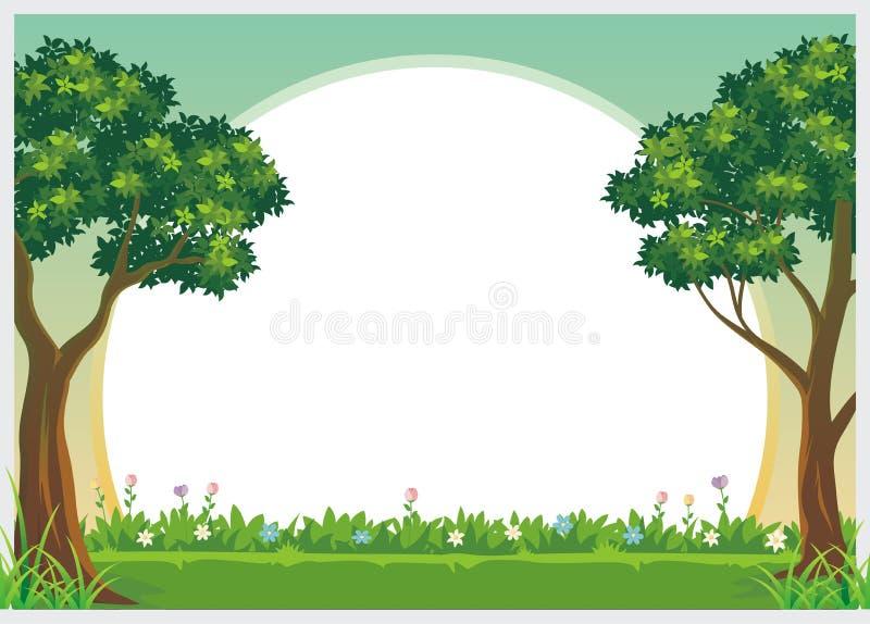Diseño precioso de la plantilla del diploma de los niños libre illustration