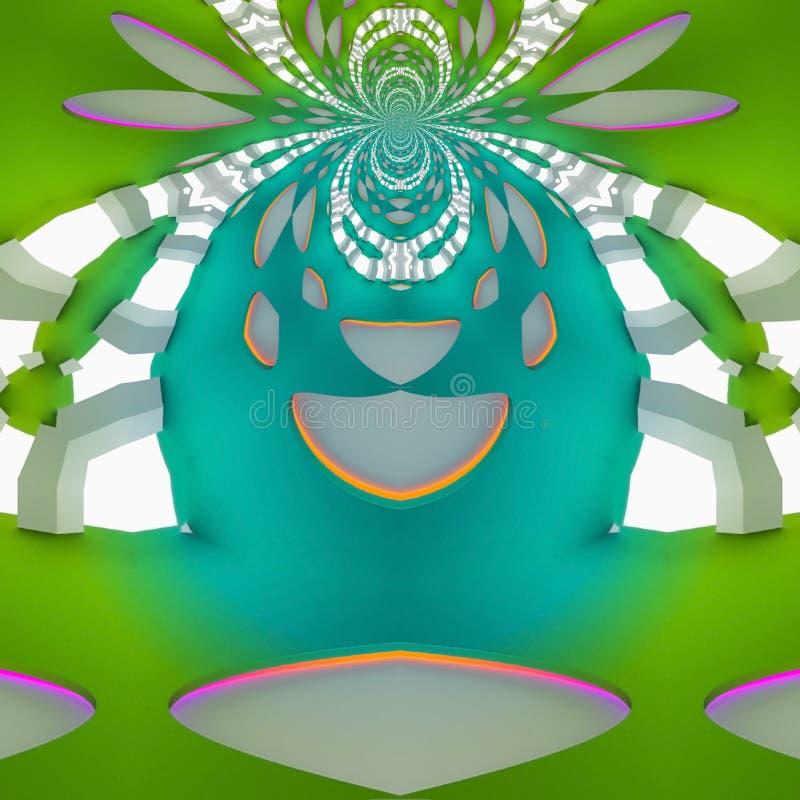 Diseño precioso en futuro El drenaje de la ilusión fotografía de archivo