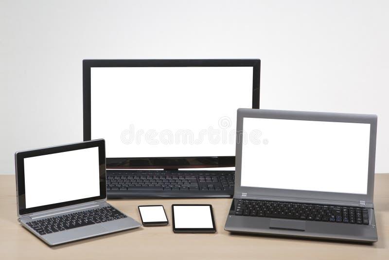 Diseño responsivo del Web site foto de archivo libre de regalías