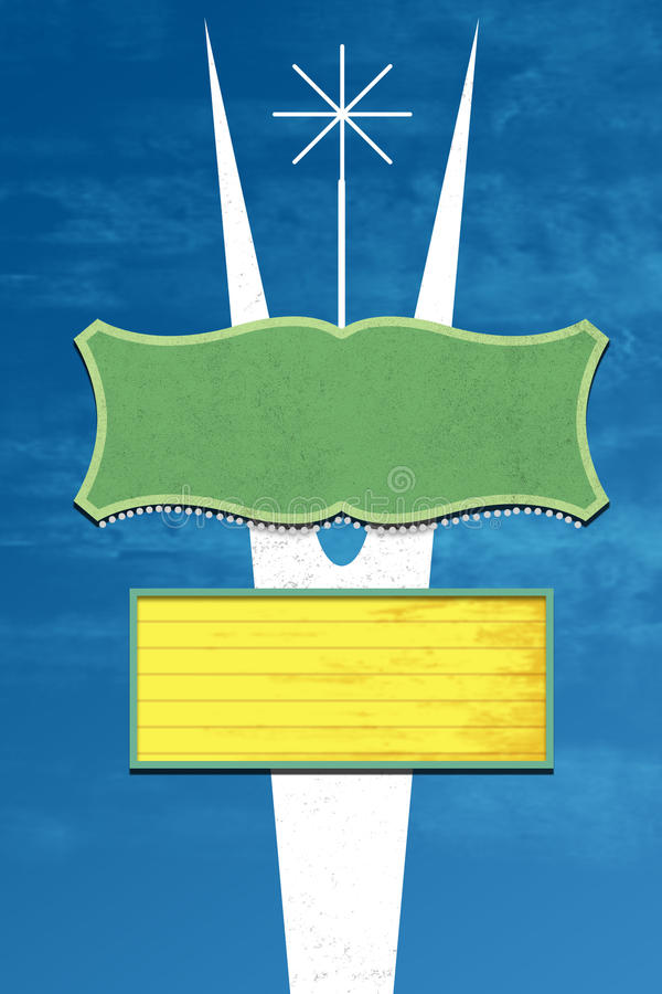 Diseño retro de la muestra ilustración del vector