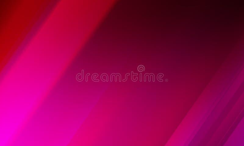 Diseño rosado del vector del fondo del extracto de la falta de definición, fondo sombreado borroso colorido, ejemplo vivo del vec stock de ilustración
