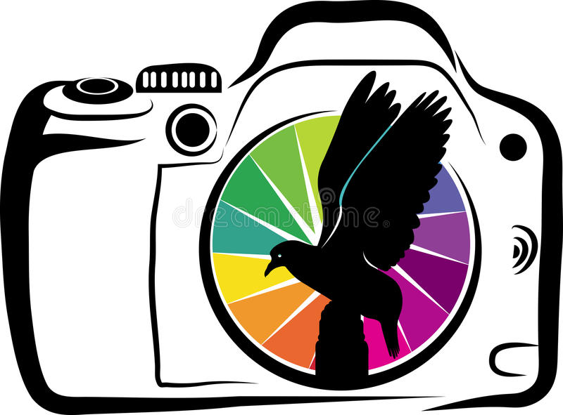 Diseño salvaje de la fotografía ilustración del vector