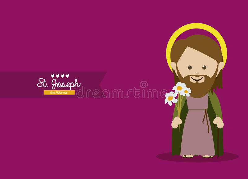 Diseño santo libre illustration