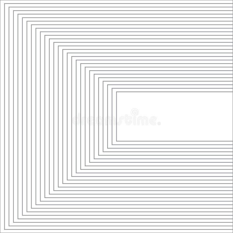 Diseño social del fondo del estilo de la bandera del poste de los medios libre illustration