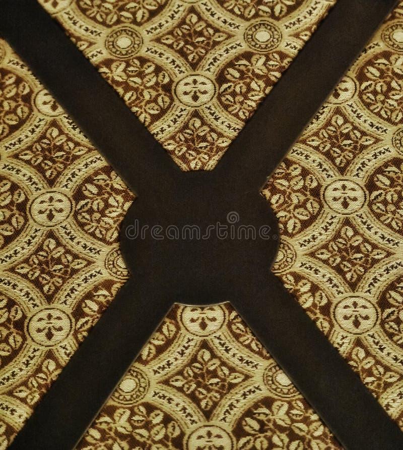 Diseño, tapicería en silla del comedor en el hotel de Skyrvyn en OKC imagenes de archivo
