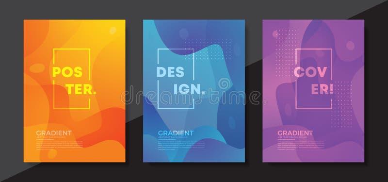 Diseño texturizado dinámico del fondo en el estilo 3D con color anaranjado Fondo para la pantalla móvil, publicidad, contexto, fo ilustración del vector