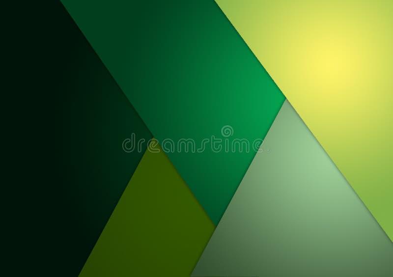 Diseño texturizado verde del fondo para el papel pintado ilustración del vector