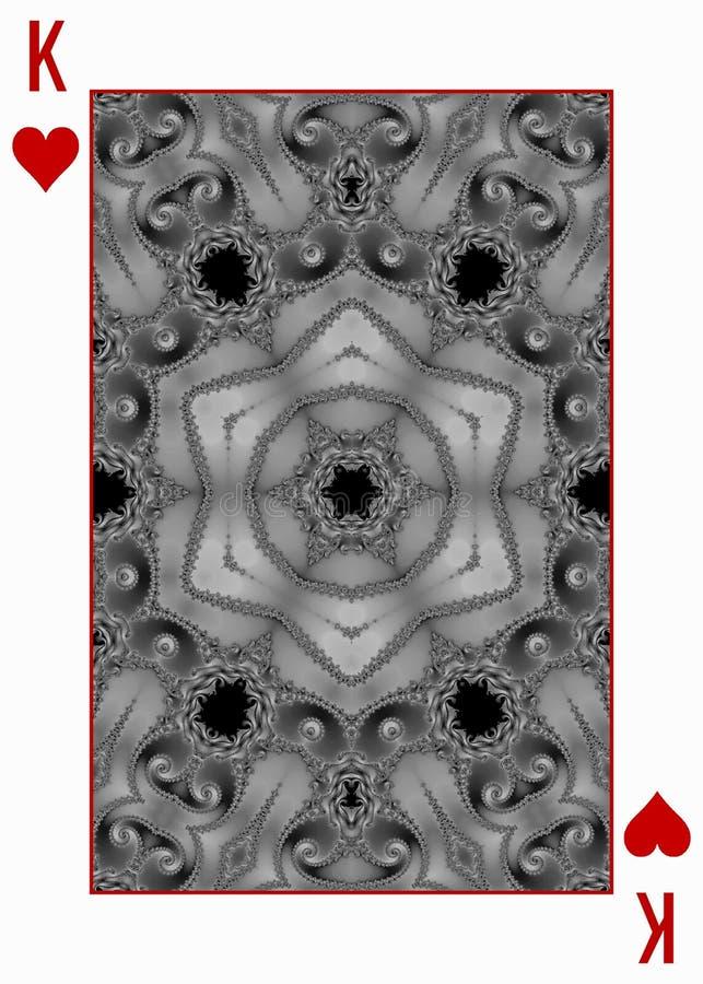 Diseño trasero de naipe con la estrella del mosaico libre illustration