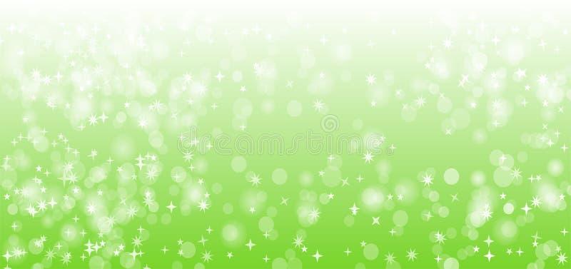 Diseño verde del fondo del vector de la chispa de la naturaleza libre illustration