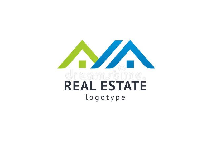 Dise?o abstracto del vector del icono del logotipo del agente inmobiliario Alquiler, venta del logotipo del vector de las propied libre illustration