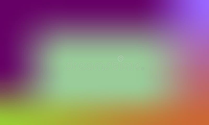 Dise?o colorido del vector del fondo de la textura de la falta de definici?n, fondo sombreado borroso colorido, ejemplo vivo del  stock de ilustración