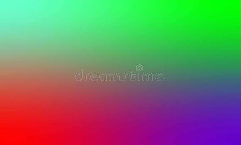 Dise?o colorido del vector del fondo de la textura de la falta de definici?n, fondo sombreado borroso colorido, ejemplo vivo del  ilustración del vector