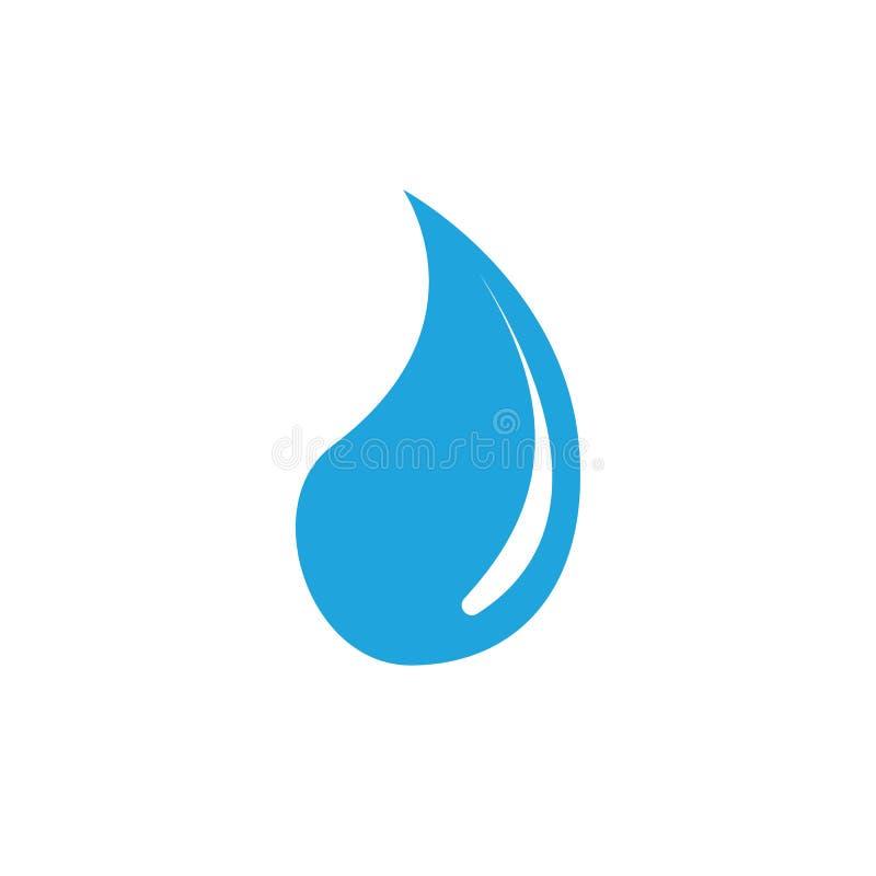 Dise?o del ejemplo del vector de Logo Template del descenso del agua libre illustration