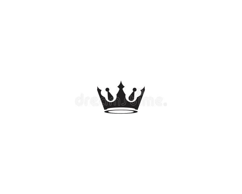 Dise?o del ejemplo del vector de Logo Template de la corona libre illustration