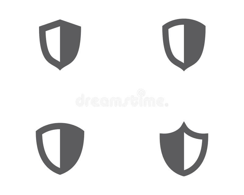 dise?o del ejemplo del vector del escudo ilustración del vector